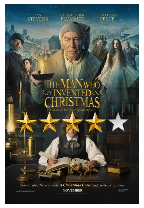 MOVIE REVIEW: The Man who Invented Christmas – Comic Crusaders
