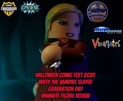 Why Go To Halloween Comic Fest 2020 Reviews Halloween ComicFest 2020 Exclusive Diamond Select Toys Buffy The